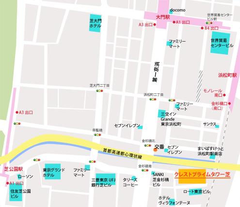 東京校地図