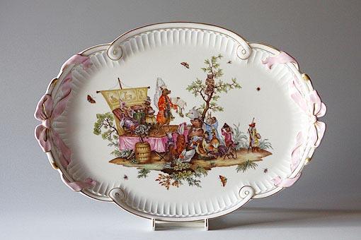 1700年代当時描かれたものが、アルテ・マイスター絵画館として知られる「ツヴィンガー宮殿」に展示されています。